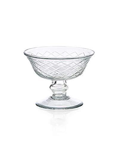 glass bowl pedestal - 1