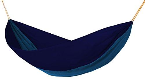 HAMAKA Double Hängematte, blau/azurblau, One Size