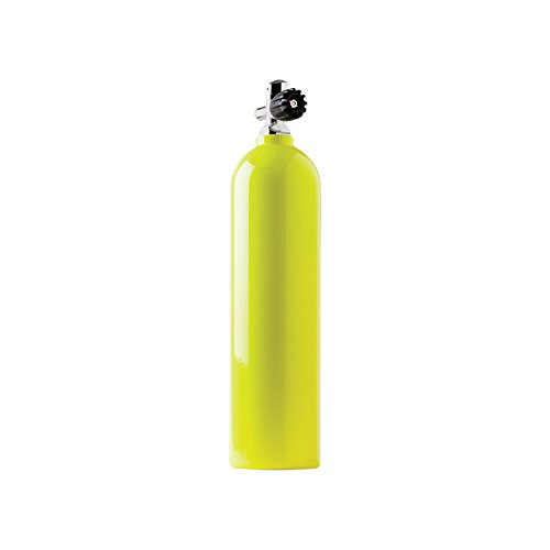 Catalina Pony Bottle Tanks, Yellow with Pro Valve-30 Cubic ft