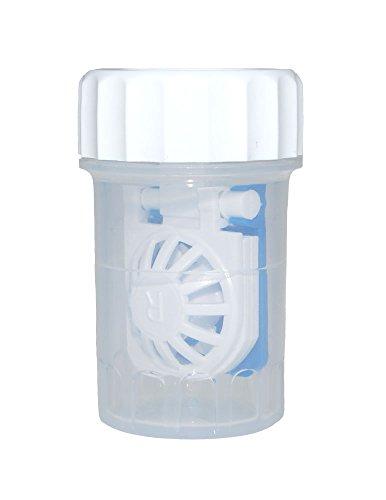 Antimikrobieller Kontaktlinsenbehälter Synergi TM für weiche Kontaktlinsen mit Körbchen (1)
