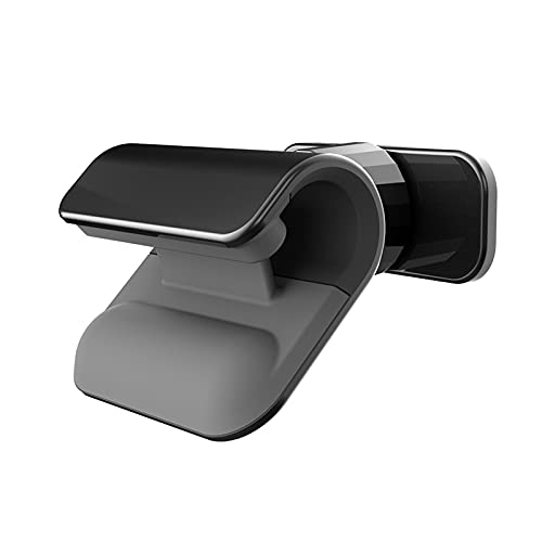 ASDFGHJKL Soporte para Teléfono para Automóvil, Soporte para Navegación para Automóvil, Soporte para Teléfono por Gravedad Multifuncional, Universal,Negro