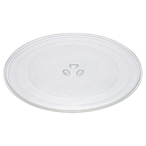 """12.75"""" 1B71961F Microwave Glass Plate Replacement by AMI PARTS for GE Whirlpool Microwave Glass Turntable Plate Replaces 1B71961E 1B71961H"""