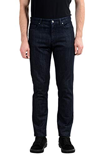 Versace Collection Trend Men's Dark Gray Stretch Classic Jeans Sz US 36 IT 52