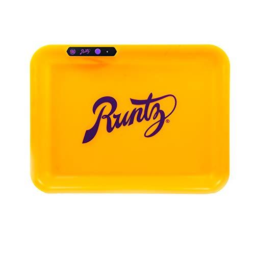 Glow Tray x Runtz Yellow LED Rolling Tray by Glow Tray V3