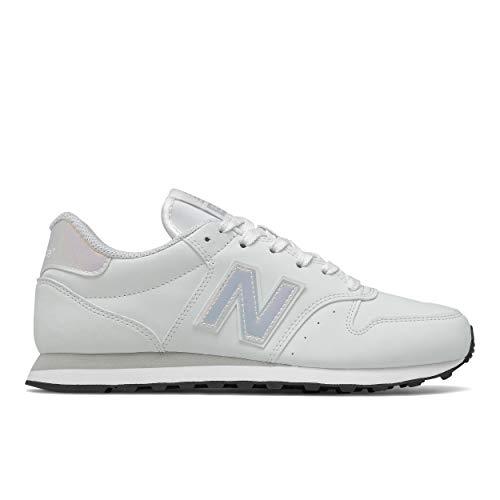 New Balance 500, Zapatillas para Mujer, Munsell Blanco, 40 EU