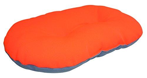 CROCI Coussin Fluo pour Chien Orange/Gris 69 x 45 cm