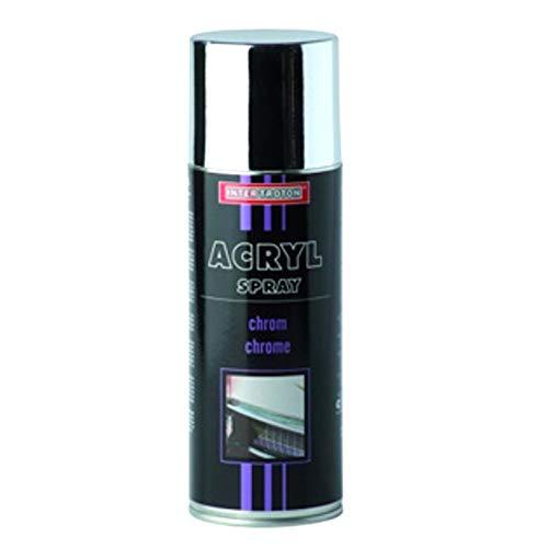 Troton CHROMESPRAY 400ml Spray Chrome Silber SPRÜHLACK CHROMEFARBE CHROMSPRAY CHROMLACK AUTOLACK EFFEKTSPRAY (1)