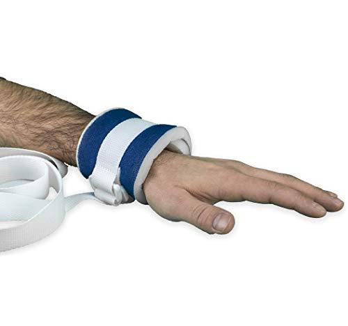 OrtoPrime PACK x2 Inmovilizadores Extremidades Antilesiones - Muñequeras Sujeción Médicas - Cinturón Sujeción Cama Hospital Hogar Geriátrico o Silla de Ruedas - Protección Anticaídas Universal ✅