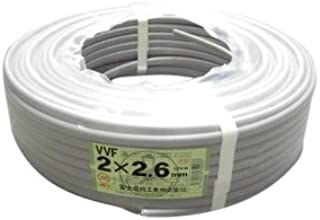 富士電線工業 低圧配電用ケーブル(VV-F) φ7.6/φ12.2mm