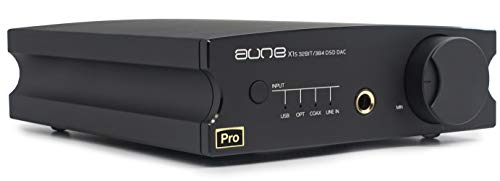 Aune X1s Pro Digital Analog Wandler / Kopfhörerverstärker 32bit/768k DSD512 DAC /KHV 7.Generation schwarz