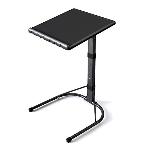 MILECN Laptop Table for Sofa/Bed, Laptop Desk, Standing Height Adjustable Computer Desk, Portable Side Table, Bed Table, Sofa Table