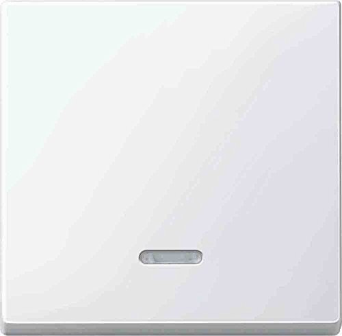 Merten 436019 Wippe mit Kontrollfenster, polarweiß glänzend, System M