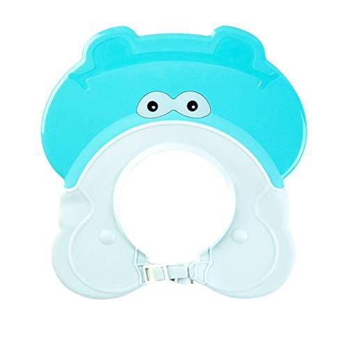 Healifty Babypartykappe Kinder Waschen Haarkappe Sicher Shampoo Badekappe Babybad Visier für Kinder Baby Kleinkind Kinder