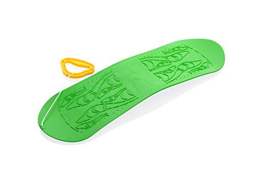 Frendo- Skyboard, Kinder (Ski Board), grün, 69x21x5 cm