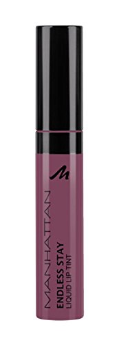 Manhattan Endless Stay Liquid Lip Tint, Langanhaltende, intensive Lippenfarbe, Farbe Soft Nude 50R, 1 x 7ml