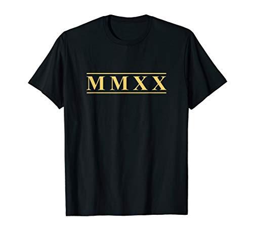 Roman Numeral New Year - MMXX T-Shirt