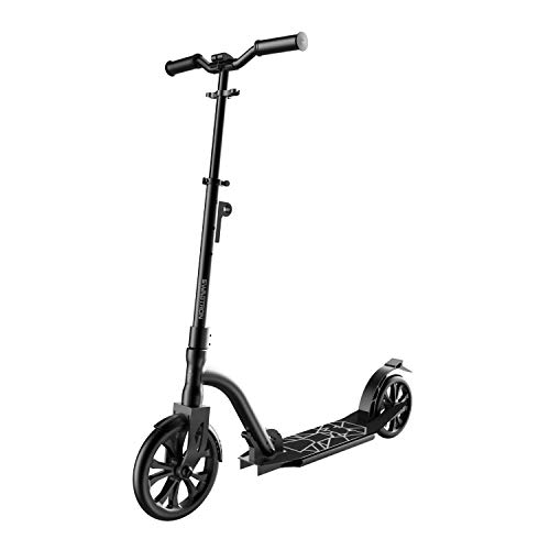 Swagtron K9 Commuter Kick Scooter for Adults, Teens | Foldable, Lightweight | Height-Adjustable for Riders up to 6'5