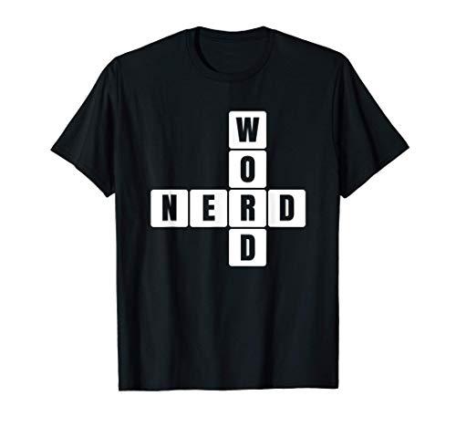 Word Puzzle, Crossword Puzzle Gift Word Nerd T-Shirt