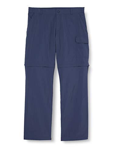 Columbia Silver Ridge IV, Pantalones de senderismo convertibles, Niña, Azul (Nocturnal), Talla L
