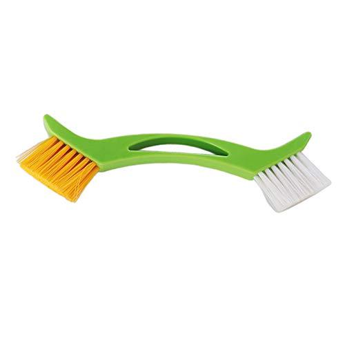 perfk Dual Purpose Kitchen Cleaning Brush Scrubber Bowl Washing Brush Cleaning Tool