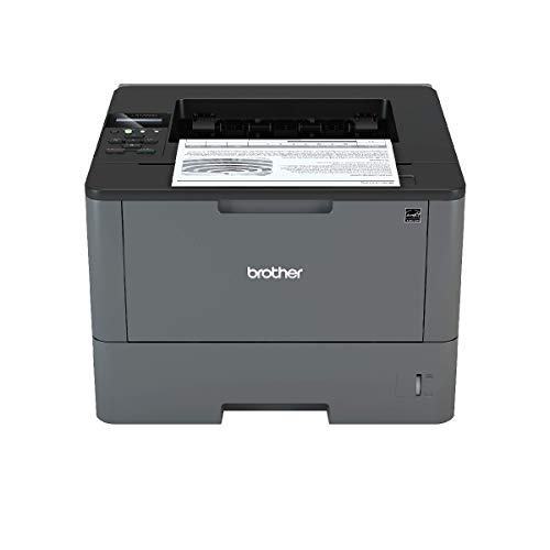 Brother HL-L5100DN Mono Laser Printer - Single Function, USB 2.0/Network, 2 Sided Printing, 40PPM, A4 Printer, Business Printer