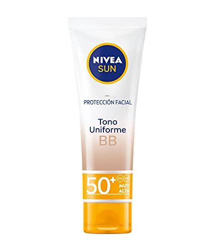 Nivea Sun Protección Facial BB Antiedad FP50+, 50ml