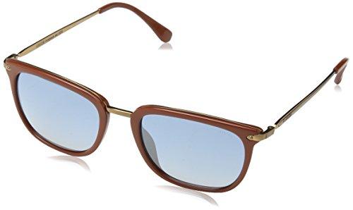 Lozza Herren Sl4028M Sonnenbrille, Blau (SHINY FULL BRICK), Einheitsgröße