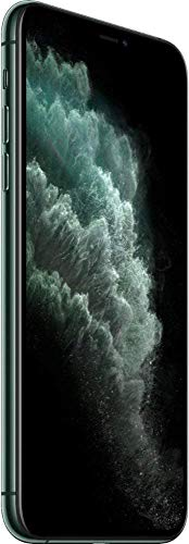 Apple iPhone 11 Pro Max, 64GB, Midnight Green - Fully Unlocked (Renewed)