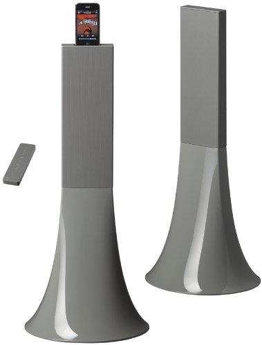 Parrot Design Zikmu Wireless Hi-Fi Speakers by Philippe Starck (Pearl Grey)