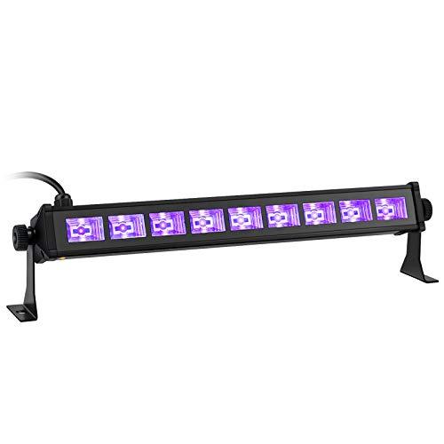 OPPSK ブラックライト 27W 9LED UV LEDライト アルミ殻 (ブラック)