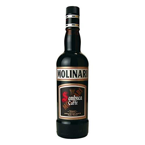 Molinari Caffe Sambuca Anislikör mit Caffé, 1er Pack (1 x 700 ml)