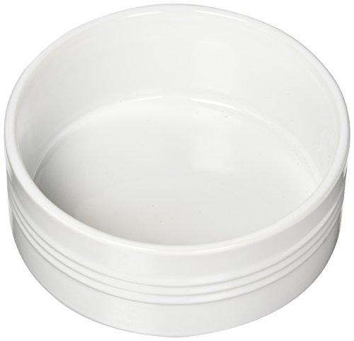 Le Creuset Stoneware Souffle Dish, 1-Quart, White
