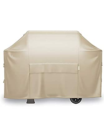 MR.COVER 65 Inch Grill Cover for 4-5 Burner Gas Grill, Heavy Duty Waterproof BBQ Cover for Charbroil, Weber Genesis, Nexgrill, Kenmore, Upgraded Durable Material, All-Weather Protection