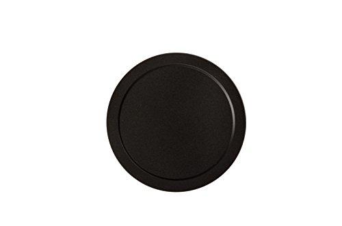 【八仙堂】 カブセ式 レンズキャップ 外径54〜55mm用 黒色