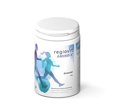 Regiovit®AMINO-V Ein Pflanzliches Eiweiss-Konzentrat als Granulat vegan