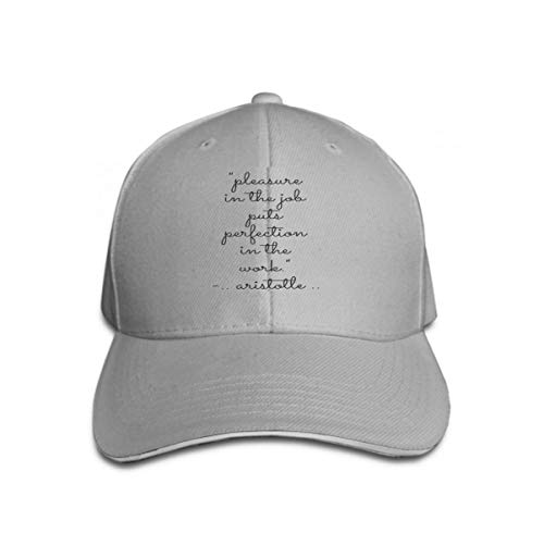 Vintage Trend Printing Cowboy Hat Fashion Baseball Cap for Men and Women Inspirational Quote Motivational Typography Invitation Greeting Card SWEA
