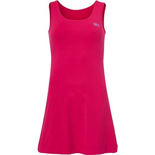 Sportkind Mädchen & Damen Tennis, Hockey, Golf Trägerkleid, UV-Schutz UPF 50+, pink, Gr. 134