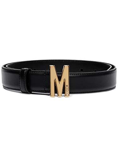 Luxury Fashion | Moschino Dames A801580062555 Zwart Leer Riemen | Seizoen Permanent