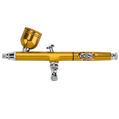 Pistola aerógrafo de 3 mm de gravedad, para arte de tatuaje, pintura de uñas, decoración de pasteles, herramientas de pintura de aerógrafo.