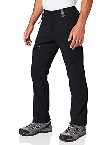 Columbia Triple Canyon Fall Hiking Pantalones y Shorts, Hombre, Negro, 34