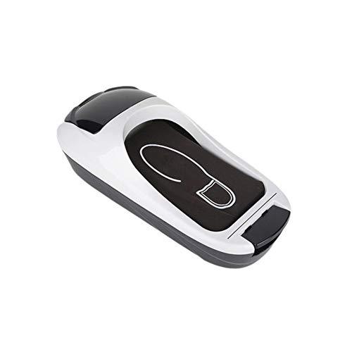 Zidao Automatischer Überschuhspender Einweg-Überschuhspender Mit Einer Rolle Rutschfester Schuhfolie Auf Das Verbrechenslabor des Haushaltsbüros Auftragen,Weiß
