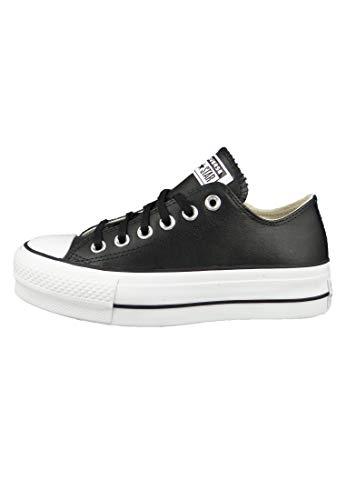CONVERSE - CTAS Lift Clean OX 561681C - Black, Tamaño:38 EU