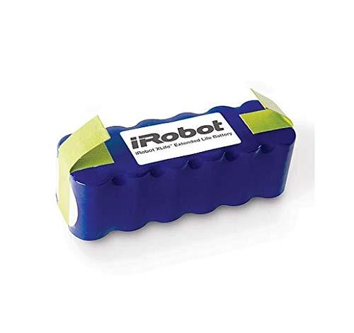 iRobot 4419696 - Batteria Lunga Durata Xlife, Parti Originali, Compatibile con Roomba Serie 500/600/700 /800 + Scooba 450, Blu