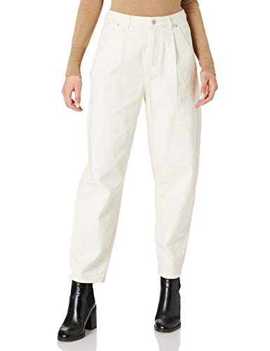 Only ONLLIVA Slouchy HW PNT Jeans, Crudo, M para Mujer