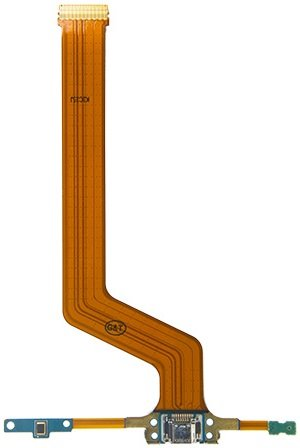 Genieforce Samsung Galaxy Note 10.1 SM P600 P601 P605 Premium✅ Ladebuchse USB Buchse Mikrofon Flex Kabel - Charger Dock Connector Micro Audio Jack Flex Cable