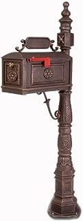 Victorian Barcelona Decorative Cast Aluminum Better Box Mailbox Bronze