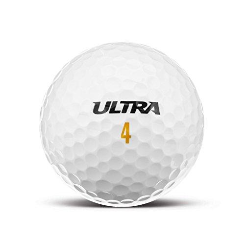 Wilson ULTRA Distance Golfball - Individuell Bedruckt mit Ihrem Text Bild oder Logo (1 STK)