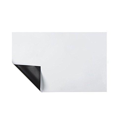 Hoja magnética de borrado en seco pizarra para Nevera suave pizarra magnética para el suministro índice refrigerador de la oficina - 30 x 42cm