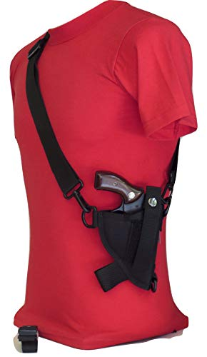 "Federal Bandolier Shoulder Holster 2""-2 1/2"" Small Revolver 38, 357, 22 - J Frame"