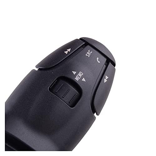 zhangjinlian Coche Cruise Radio Control de Audio Stalk Manija Interruptor 624 2Z6 96538206XT Ajuste para Peugeot 3008 407 607 206 207 307 308 Citroen C5 C6